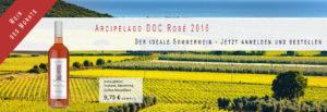 TOSCAVINO Wein des Monats Arcipelago DOC Rosé 2016